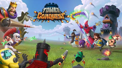 تحميل لعبة برج الدفاع Tower Conquest v22.00.38g مهكرة وكاملة للاندرويد جواهر + نقود لا نهاية أخر اصدار