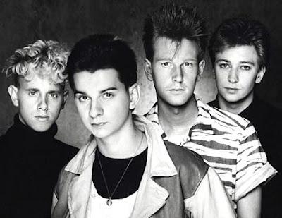 Foto de Depeche Mode en sus inicios