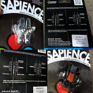 Brake Pad atau Brake Shoe Sapience