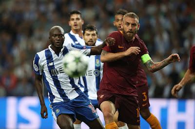 Cuplikan Gol AS Roma vs Porto : Skor 0-3