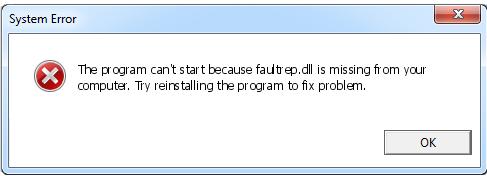 Télécharger Faultrep.dll Fichier Gratuit Installer