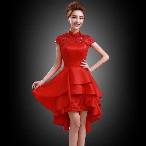 Model Kebaya Gaun Pesta Pendek Terbaru