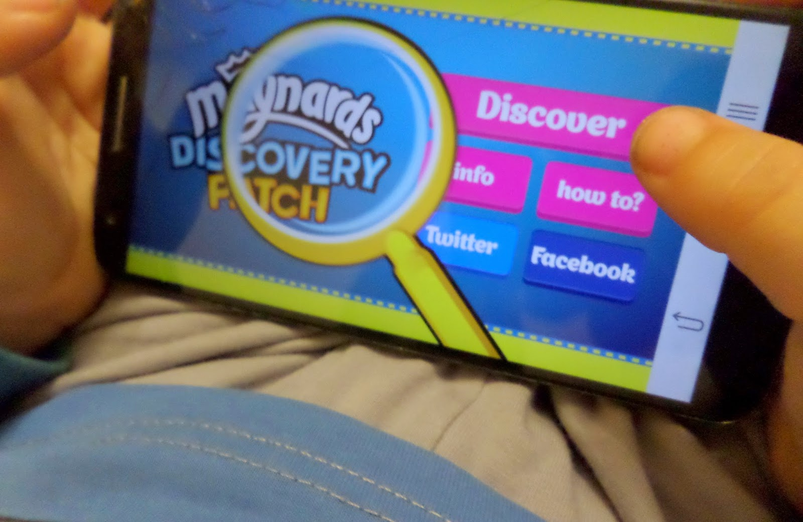 #DiscoveryPatch, educational app, technology