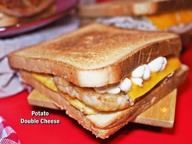 Isaac Toast Malaysia Menu - Potato Double Cheese