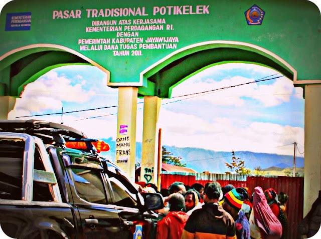 Pedagang di Wamena Diminta Manfaatkan Pasar Potikelek
