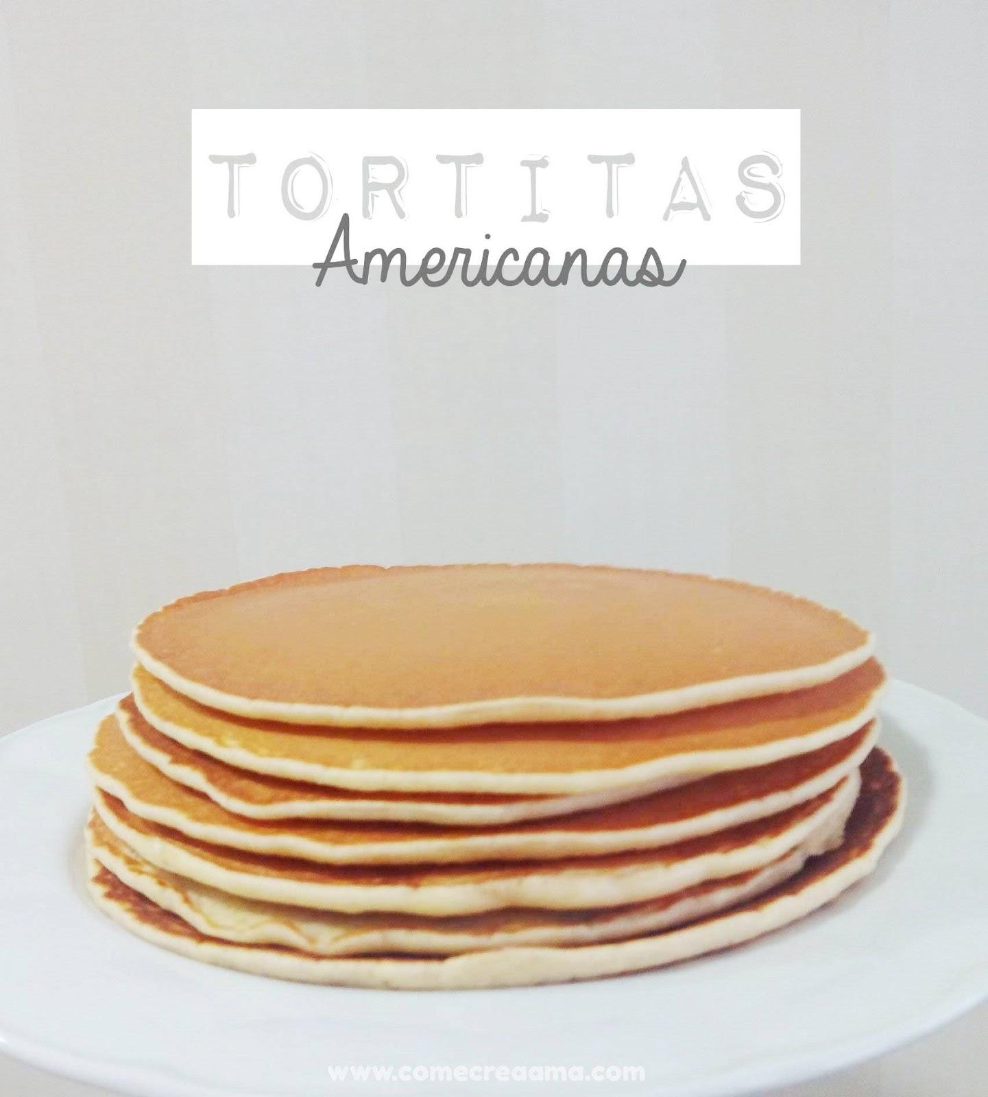 Imagen de tortitas recién hechas