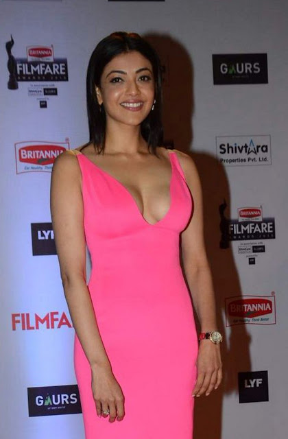 Kajal agarwal hot Filmfare photos