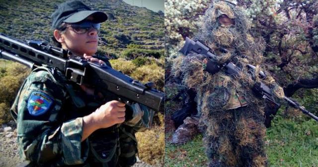 Αυτή είναι η πρώτη Ελληνίδα Εθνοφύλακας: Ελεύθερη σκοπεύτρια σκοτώνει με μια βολή