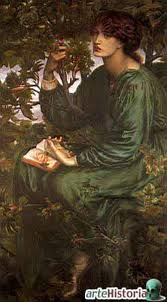 Dante Gabriel Rossetti - Sueño de día (1880)
