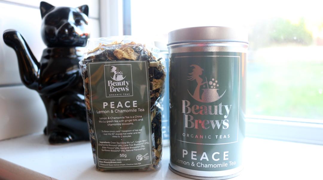 Beauty Brews Organic Tea - Peace