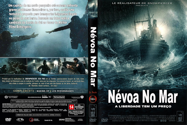 Capa DVD Névoa No Mar