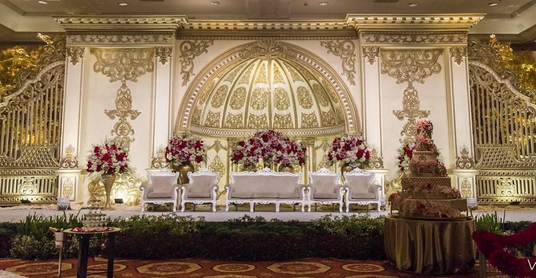 Desain Mewah Untuk Resepsi Pernikahan Wajib Baca