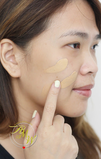 a photo on how to use L'Oreal Infallible Pro-Matte 24HR Foundation