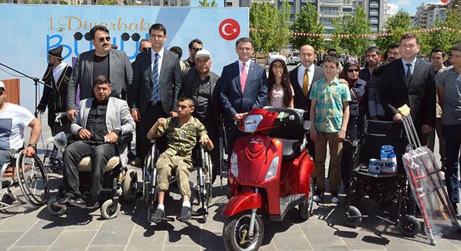 Diyarbakır'da Büyük Engelsizler Buluşması düzenlendi