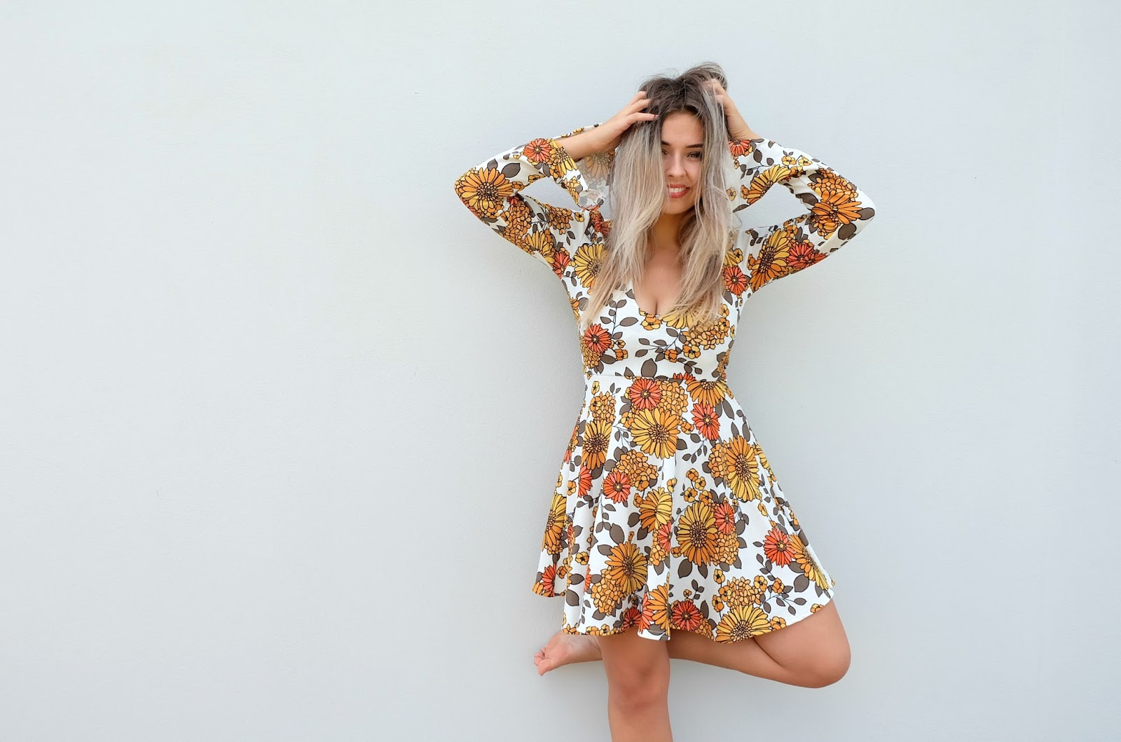 Sunflower Jolie Dress from Boohoo