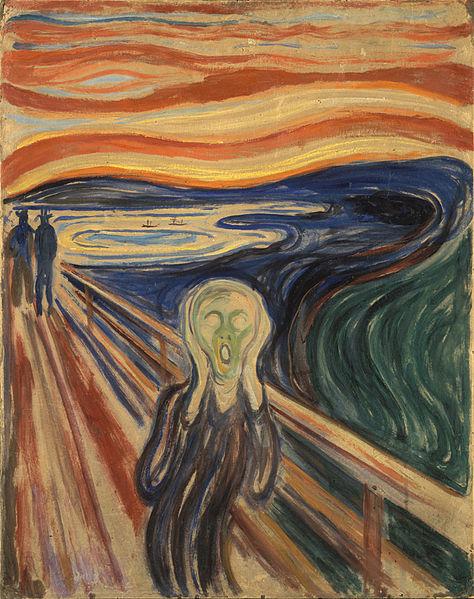 """Edvard Munch, """"El grito"""""""