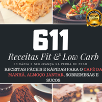 611 receitas fitness e low carb