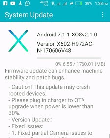 How To Update Infinix Zero 4 Plus To Android 7.1.1 Nougat