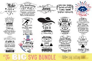 The Big SVG Graphic Bundle