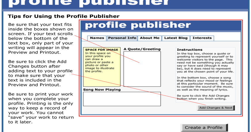 here is a great tool for students to create fake social