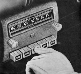 Radio de de auto viejo