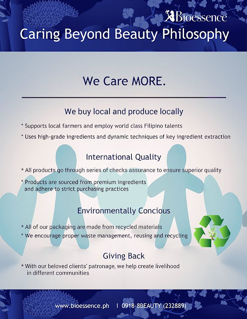 BIOESSENCE: Caring Beyond Beauty Philosophy