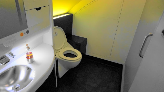 Toilet A380 Malaysia Airlines