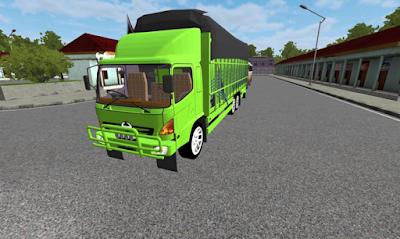 Download Mod Truck Hino Lohan Bussid versi 2.9 Apk + Cara Pasang