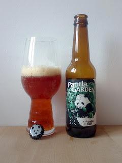 PandaBeer Beer Garden Store Panda Garden Imperial Triple IPA dorado y en botella