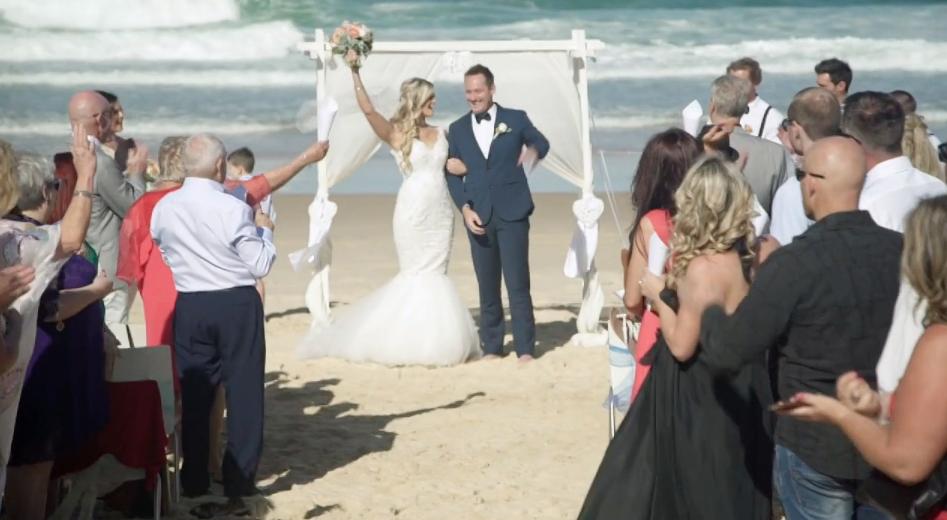 Michelle collins wedding