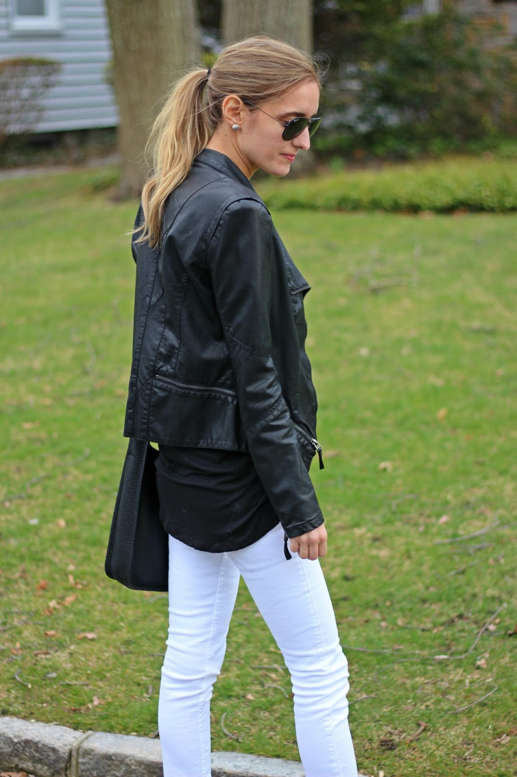 Leather lightweight perfect spring attire best photo