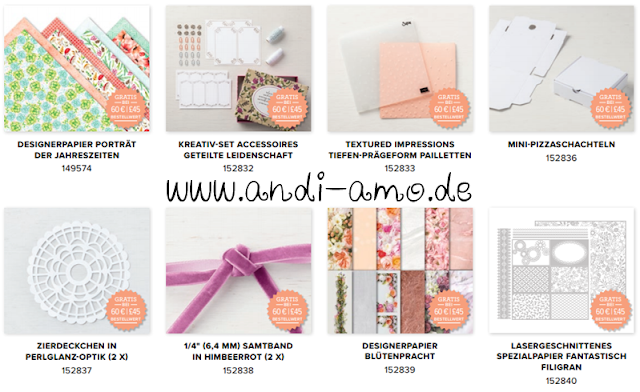 Stampin Up Sale-A-Bration Neue Gratis-Produkte 3.Teil