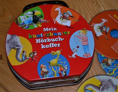 """""""Mein kunterbunter Hörbuchkoffer"""" Hörbücher für Kinder"""