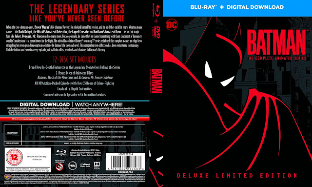 Batman The Complete Animated Series Bluray