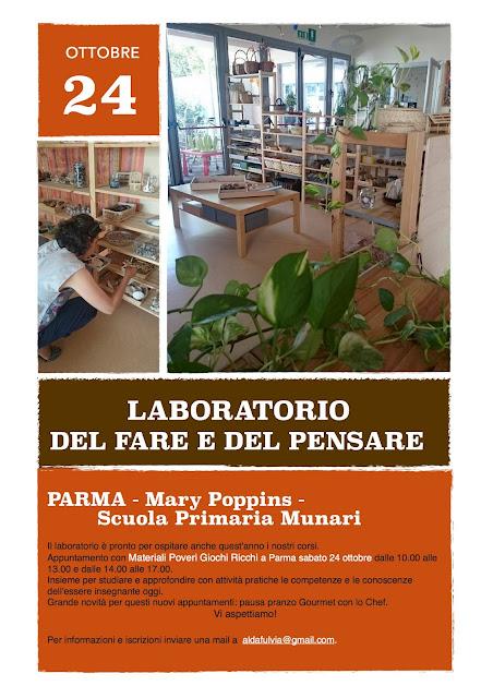 Poster Laboratorio del fare e del pensare