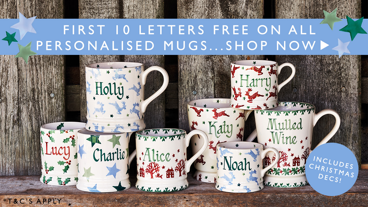 Emma Bridgewater Holiday Mugs