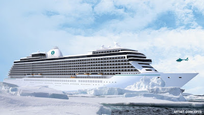 Artists Rendering of Crystal Cruises New Ship