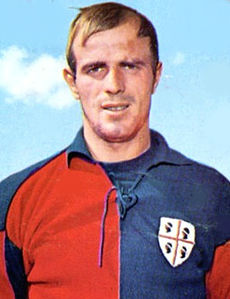Comunardo Nicolai was a member of the most successful team in Cagliari's history