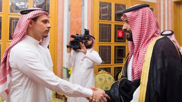 Raja Salman dan Pangeran Bertemu Putra Jamal Khashoggi