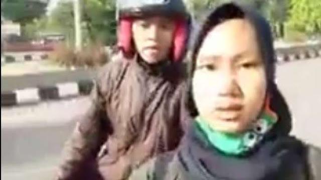 VIRAL: Sudah Tak Pakai Helm dan Spion, Mau Ditilang Malah NGEYEL