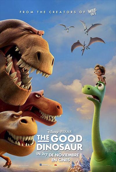 The Good Dinosaur (BRRip 720p Dual Latino / Ingles) (2015)