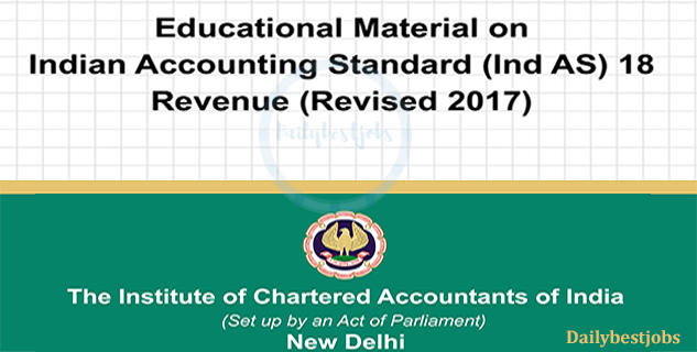 Educational Material Ind AS 18, Revenue ICAI Revised Download