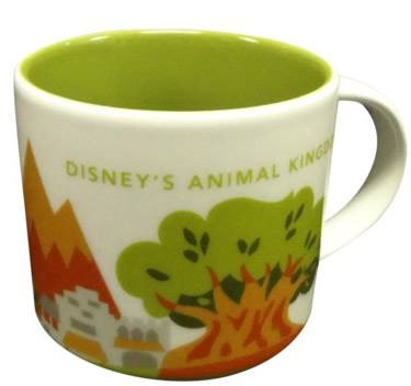 disney animal kingdom starbucks mug