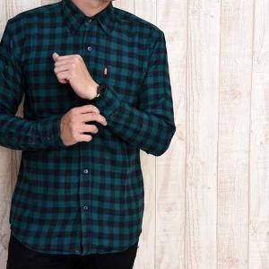 Desain Baju Kemeja Kotak - Kotak Pria Terbaru