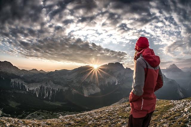 Sunrise Tour MTB Tour Dolomiten Sas dla Para