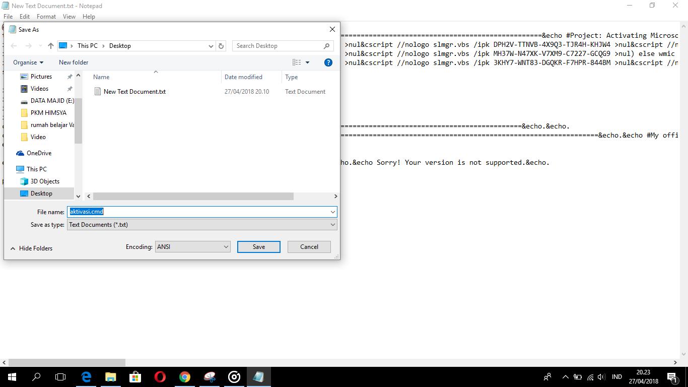 Cara Aktivasi Windows 10 Permanen 2018 Tanpa Software - Kazumi