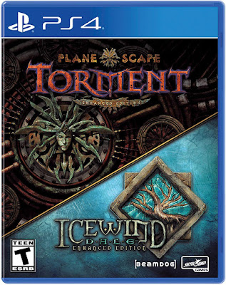 Planescape Torment And Icewind Dale Enhanced Editions Game Cover Ps4