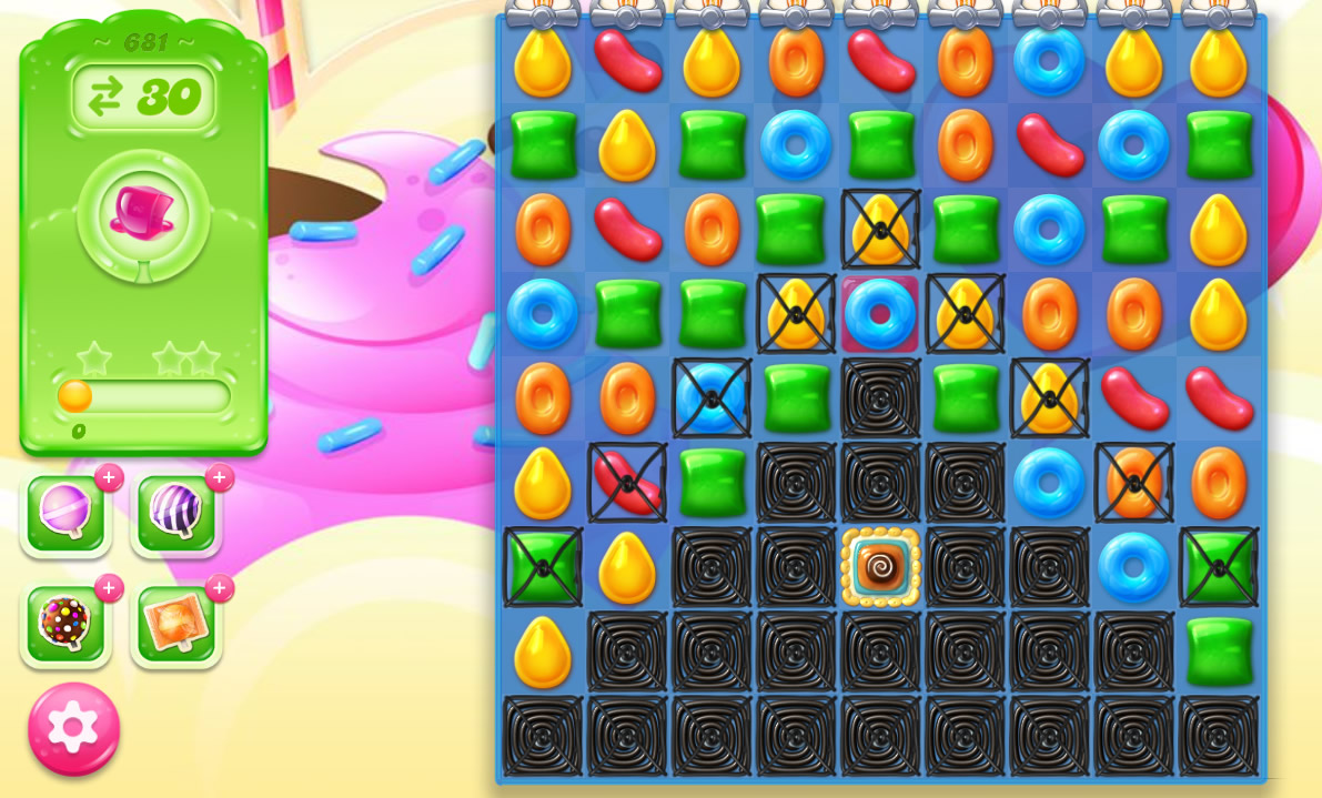 Candy Crush Jelly Saga level 681