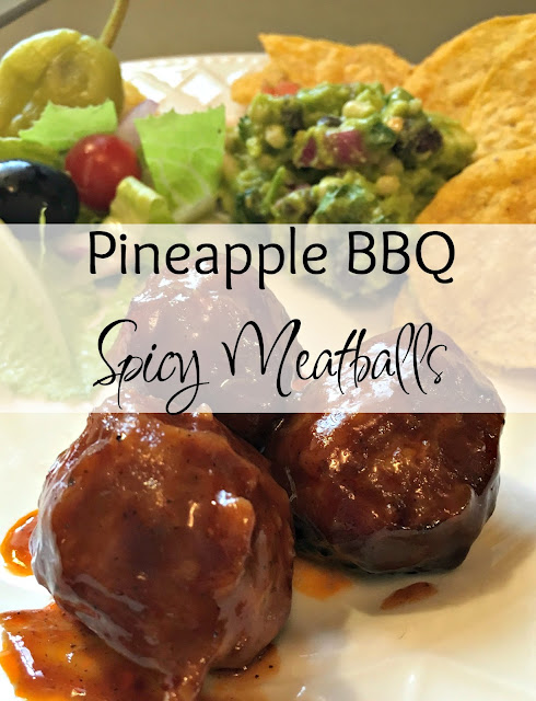 #RaceDayRelief, #Ad, Slow Cooker sweet and spicy Meatball Recipe, CrockPot sweet and spicy meatball recipe, Pineapple meatball recipe, easy Meatball recipe video, Southwestern guacamole, easy spicy guacamole, zesty Italian salad, Nexium