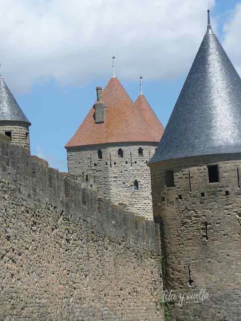 Murallas y torres de Carcassonne